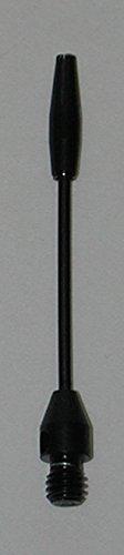 Buy Discount US Darts - 2 Sets (6 Shafts) Micro-Thin Steel Dart Shafts, Black Medium, 2ba