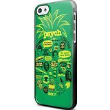 Psych pineapple quote mash up for Iphone and Samsung Galaxy Case (iPhone 5C black)