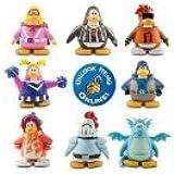Disney Club Penguin 8 Pack Assortment - 2'' Mix 'N Match Figures