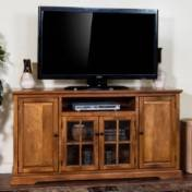 "Sunny Designs Sedona TV Console, 64"", Rustic Birch"