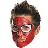 MARVEL SPIDER-MAN FACE TATTOO TEMPORARY TATTOO COSTUMES