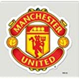 MANCHESTER UNITED OFFICIAL LOGO 8X8 DIE CUT CAR DECAL