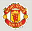 "Manchester United Official 8""X8"" Soccer Car Decal front-35898"
