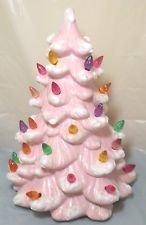 Light up Ceramic Christmas Tree