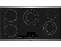 "Bosch Net8666Suc 800 36"" Black Electric Smoothtop Cooktop"