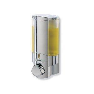 aviva-single-bottle-soap-and-shower-dispenser-chrome-by-aviva