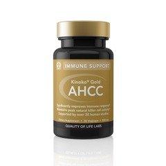 Kinoko Or 500 mg AHCC Qualité de vie Labs 30