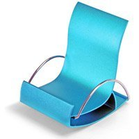 Rocking Chair Phone Holder Display, Blue