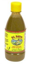 El Pato Green Jalapeno Hot Sauce Medium by El Pato