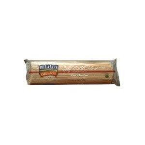 Delallo 100% Organic #1 Whole Wheat Capellini 1 LB (Pack of 16) ( Value Bulk Multi-pack)