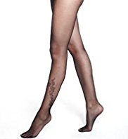 Autograph Floral Tattoo Tights