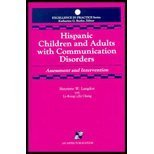 img - for Hispanic Children and Adults with Communication Disorders (Aspen Series in Critical Care Nursing) by Henriette W. Langdon (1992-01-30) book / textbook / text book