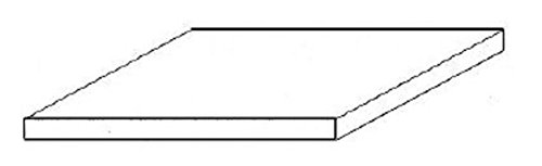 "Black Styrene Sheets, .01x6x12"" (4)"