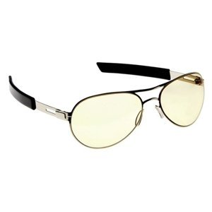 Silver Aviator Gaming Glasses