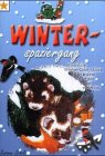 Window-Color-Vorlage: Winterspaziergang: Winterliche Window-Color-Motive, die bei trübem Wetter gute Laune verbreiten
