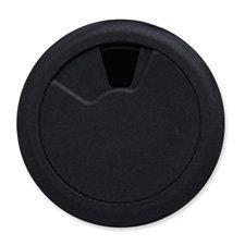 Cord Away Master Adjustable Wire Organizer Grommet 2-Inch Diameter Black 1 Pack 00201B000087LGC