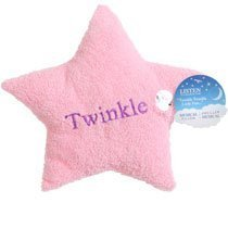Pink Twinkle Little Star Musical Plush Mini Pillow - 1