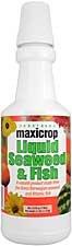 Maxicrop 4001 Liquid Seaweed And Fish Fertilizer, 1-Quart