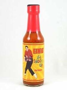 Elvis All Shook Up Hot Sauce from Elvis