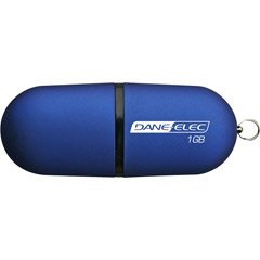 Dane-elec 4GB USB Drive W 40 Song Download