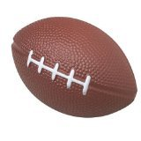 "Dozen Foam Mini (4"") Football Stress Balls"