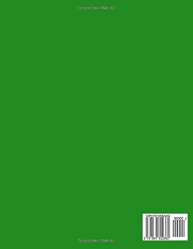 Journals Blank Pages: Classic (Blank Pages) Green Cover Journal Option - ON SALE NOW - JUST $6.99: Volume 7