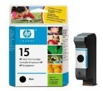 New Genuine Original HP Hewlett Packard N015 high capacity black C6615AE / C6615DE HP15 printer ink - print inkjet cartridge - ( click to view Supported printers inlcuding officejet deskjet and fax series ) unboxed