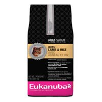 See Eukanuba Adult Lamb and Rice Cat Food