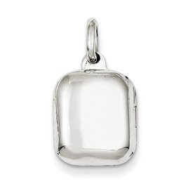 Genuine IceCarats Designer Jewelry Gift Sterling Silver 14Mm Locket