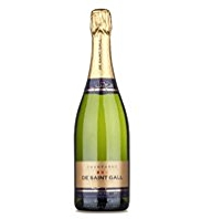 De Saint Gall Grand Cru Brut Vintage 2004 Champagne - Case of 6
