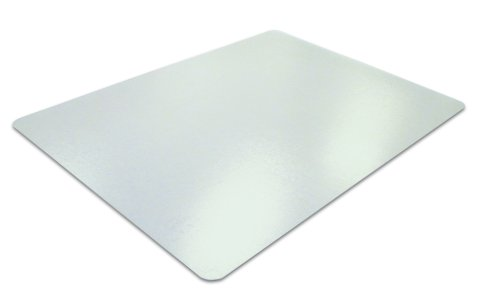 Ecotex Recycled PET Smooth Back Chairmat for Hard Floors, 30 x 48 Inches, Tinted (ECO3048EP)