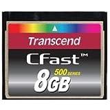 Transcend Compact Flash CFast 8GB Speicherkarte