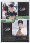 Steve Cox, Travis Harper #17/999 Tampa Bay Rays (Baseball Card) 2000 Pacific Omega [???] #211