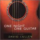 One Night One Guitar David Cullen