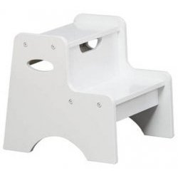 Kidkraft Two Step Stool - White from KidKraft