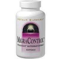 Source Naturals Migra Control, Butterbur, 50mg