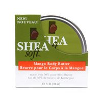 Shea Soft Natural Skin Care Mango Body Butter 5 fl oz (148 ml)