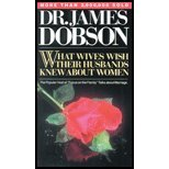 img - for What Wives Wish Their Husbands Knew About Women by Dobson,James C.. [1981] Paperback book / textbook / text book