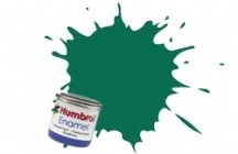Humbrol Model Enamel Paint No.030 Matt Dark Green, AA0326