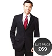 Slim Fit 2 Button Machine Washable Jacket