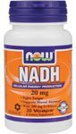 Now Foods Nadh 20mg with 200mg Ribose, Veg-Capsules, 30-Count