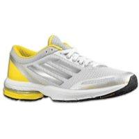 Adidas Women\'s Adizero Aegis 3 Running Shoes-Clear Grey/Silver/Yellow-11