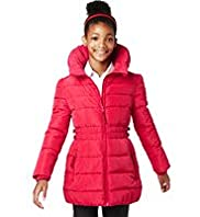 Concealed Hood Padded Jacket with Stormwear™