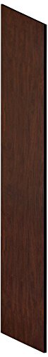 Salsbury Industries 22236Mah Side Panel For 21-Inch Deep Extra Wide Designer Wood Locker With Sloping Hood, Mahogany Brown front-520337