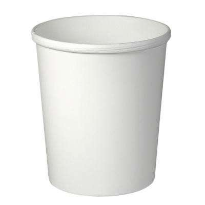Solo Cup Company SCC H4325U Flex Paper Food Container 32oz White, 1 Sleeve of 25