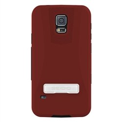 Seidio Samsung Galaxy S5 Capsa With Kickstand - Garnet Red