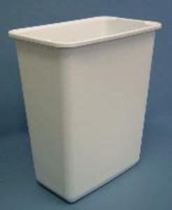 Rev a shelf 30qt replacement waste bin white maryland for Marble bathroom bin