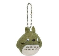 Ghibli My Neighbor Totoro Ball Chain Charm O-Totoro Green - 1