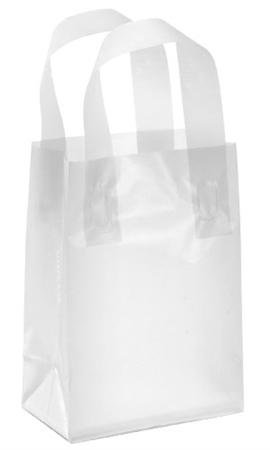 Cheap Clear Plastic Frosted Shopping Bags