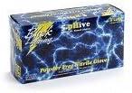 Black Lightning Disposable Latex Gloves - Large 100 per Box